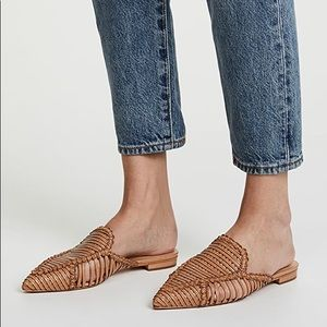 SCHUTZ Marli Point Toe Mules